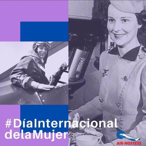 Mujeres que hicieron historia en el mundo de la aviación.