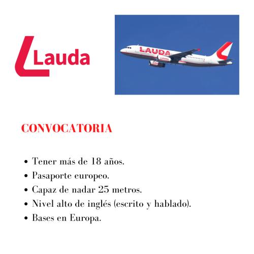 La aerolínea Lauda busca TCPs para sus bases en Europa
