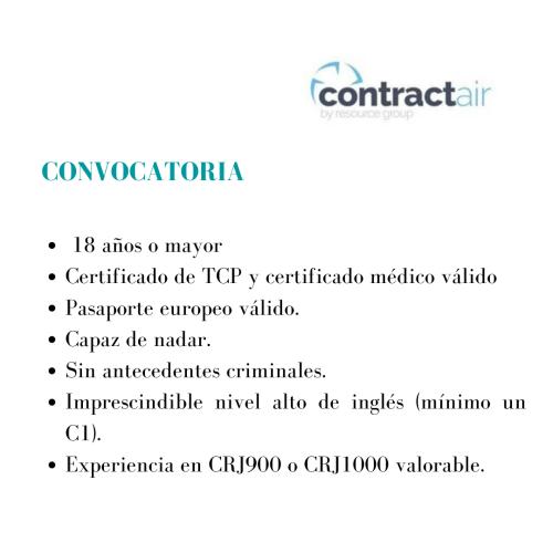 ContractAir está buscando actualmente TCP's