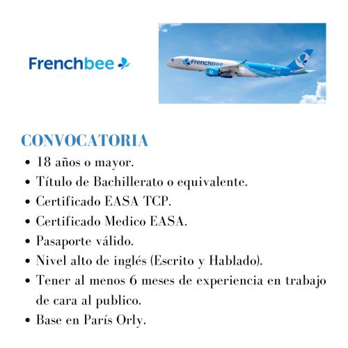 La aerolínea francesa busca nuevos TCPs