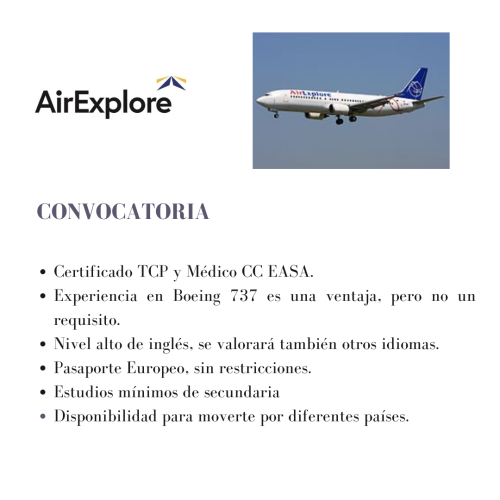 AirExplore busca TCPs