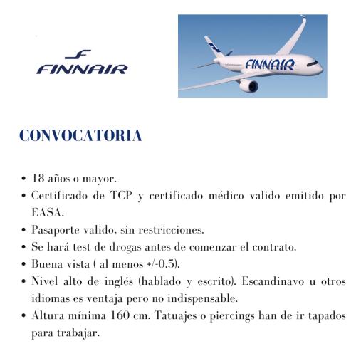 Finnair busca TCPs
