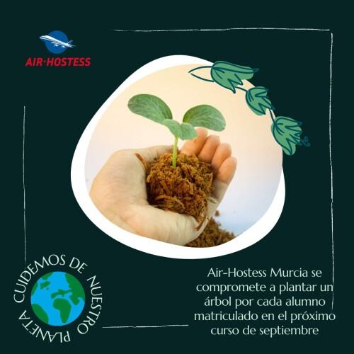 Air-Hostess Murcia en la lucha contra el cambio climático